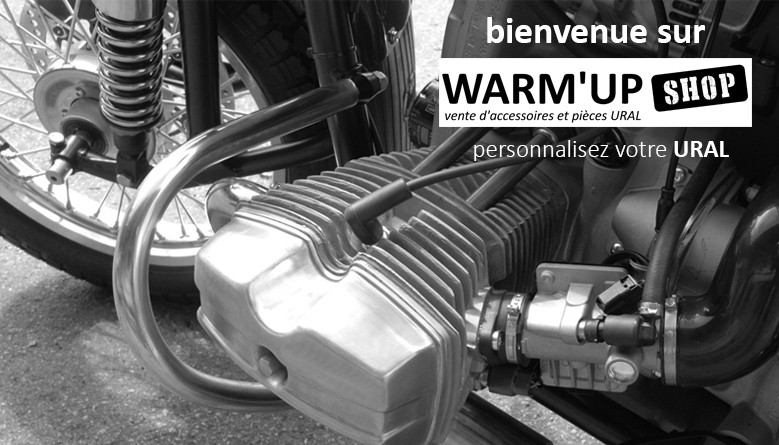 bienvenue sur le site warmup shop